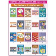 Covid-19 Safety Charts for Indoor Installation (23x32cm)