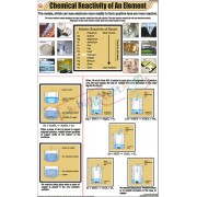 Chemical Reactivity of an Element Chart (58x90cm)