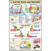Electric Shock and Treatment Chart (50x75cm)