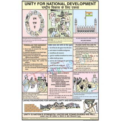 Unity for National Development Chart (50x75cm)