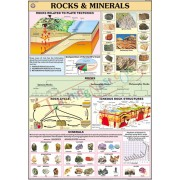 Rocks and Minerals Chart (70x100cm)