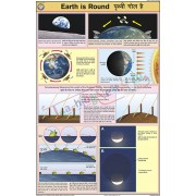 Earth is Round Chart (50x75cm)